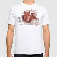 Foxes Have Dens Mens Fitted Tee Ash Grey SMALL