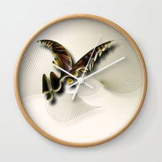 Butterfly Abstract Wall Clock