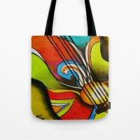 Untitled (Guitar)  Tote Bag