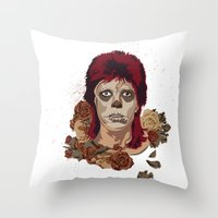 Ziggy De Los Muertos Throw Pillow