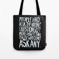 ANSWERS Tote Bag