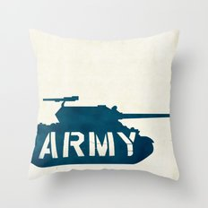 The Love Army Throw Pillow