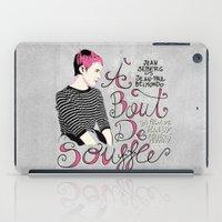 À Bout De Souffle - Ale… iPad Case
