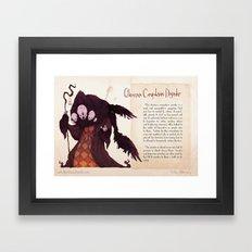 Real Monsters- OCD Framed Art Print