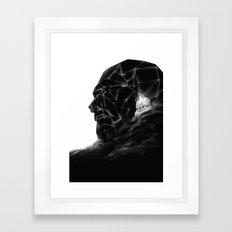 Dune head Framed Art Print