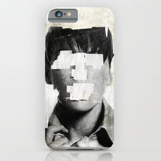 Faceless | number 02 iPhone & iPod Case