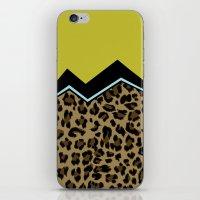 Sassy Babe - Chartreuse iPhone & iPod Skin