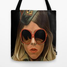 Scout Girl Tote Bag