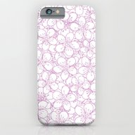 Cherry Blossom Pink Outl… iPhone 6 Slim Case