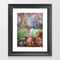 Follow Her Framed Art Print