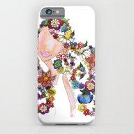 Flower Girl One iPhone 6 Slim Case