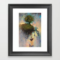 The Hiding Place Framed Art Print