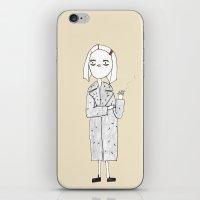 the royal tenenbaums - margot iPhone & iPod Skin