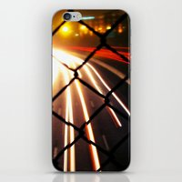 Streaming Light iPhone & iPod Skin