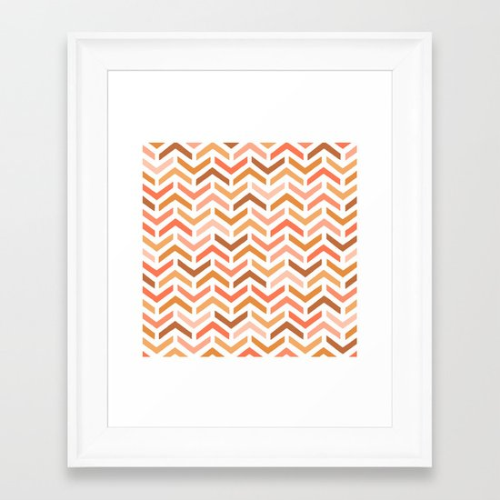 Ripples Dawn Framed Art Print