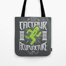 Cactaur Acupuncture Tote Bag