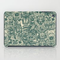 gargoyles teal iPad Case