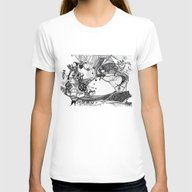 Circus Womens Fitted Tee White SMALL