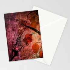 COLOR SYMPHONY ~ Asian design of flowers Stationery Cards