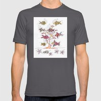 Coral of Life (Underwater)  Mens Fitted Tee Asphalt SMALL