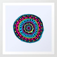 In The Round Art Print