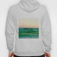 pastel sea Hoody