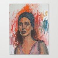 Loss Of Series V Canvas Print