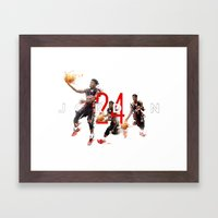 J.24 Framed Art Print