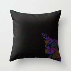 There Will Be Triangles Throw Pillow