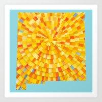 New Mexico Sun Art Print