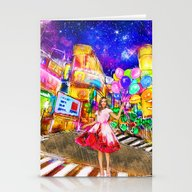 Meet Me In Japan. Stationery Cards