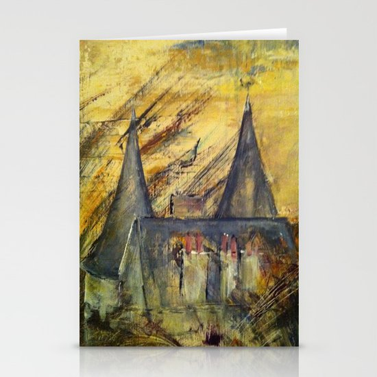 Country Castle Stationery Card
