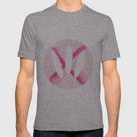 pastels & Glitter Mens Fitted Tee Athletic Grey SMALL
