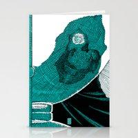 Fate (aquamarine v.01) Stationery Cards