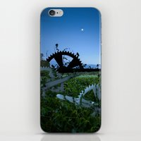 Sprockets In The Mist iPhone & iPod Skin