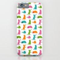 Cats Multicolor iPhone 6 Slim Case