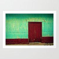 Doorways III Art Print