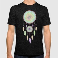 DREAM CATCHER V.2 Mens Fitted Tee Tri-Black SMALL