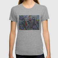 The Sacred Place Womens Fitted Tee Athletic Grey SMALL