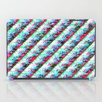 Filtered Diagonals iPad Case