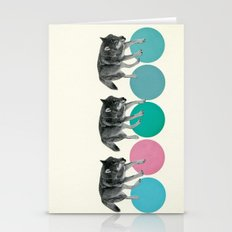 Hungry Wolves Stationery Cards