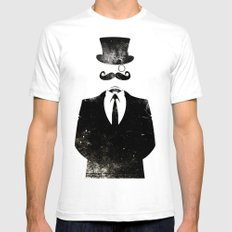 The Formal Faction Mens Fitted Tee White SMALL