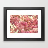 Pink Paradise Framed Art Print