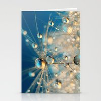 Dandy Drops in Royal Blue Stationery Cards