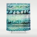 Dreamy Tribal Part VIII Shower Curtain