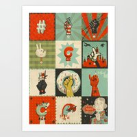 All The SIGNS Of A REVOL… Art Print