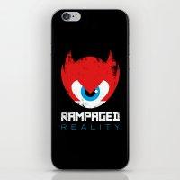 Rampaged Reality iPhone & iPod Skin