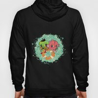 The Pond Lovers - Mr. Froggy and Ms Goldfish Hoody