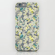 painted floral iPhone 6s Slim Case