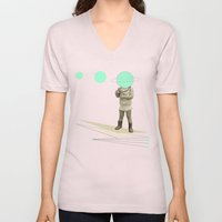 he believes he can fly Unisex V-Neck